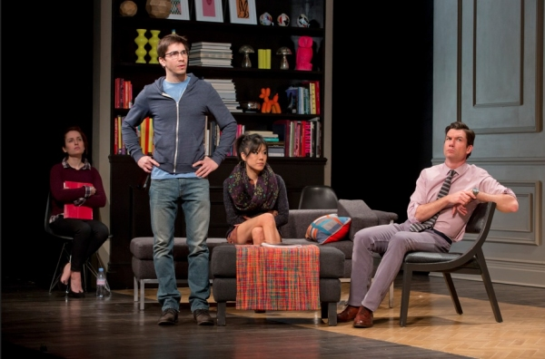 Photo Flash: First Look at Jeff Goldblum, Justin Long & Zoe Lister-Jones in SEMINAR