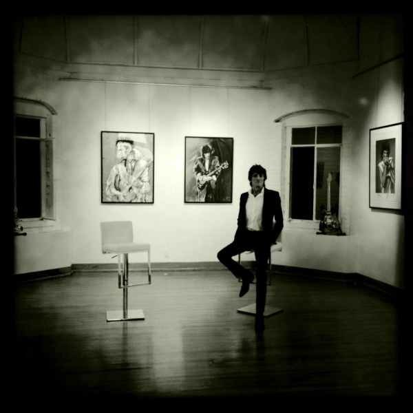 Photo Flash: Symbolic Collection Presents Ronnie Wood Exhibition