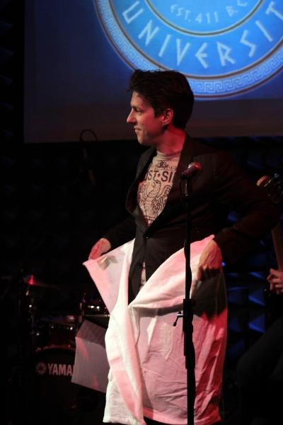 Lewis Flinn at Photo Coverage Exclusive: LYSISTRATA JONES Cast Sings Album Release Concert at Joe's Pub!