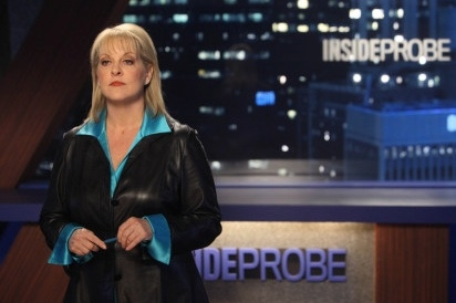 Nancy Grace at First Look - Nancy Grace Guest Stars on FOX's  RAISING HOPE, 4/17