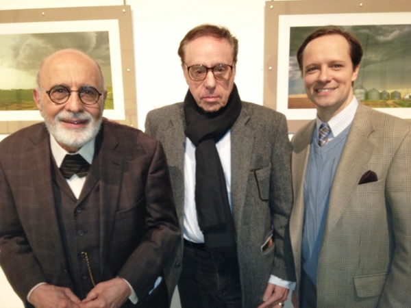 GEORGE MORFOGEN, PETER BOGDANOVICH, and JIM STANEK