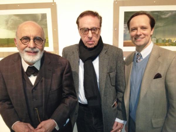GEORGE MORFOGEN, PETER BOGDANOVICH, and JIM STANEK at