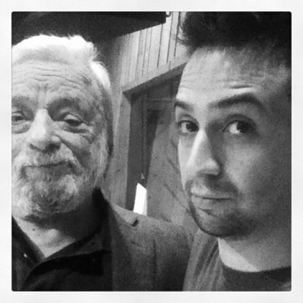 Image result for sondheim, hamilton