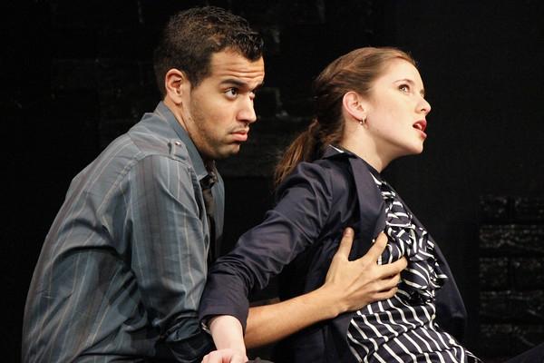 Brandon Contreras and Ashley Rose Folino