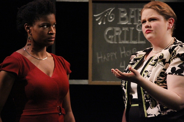 Ashley Romans as Inez and Aubree Mullally