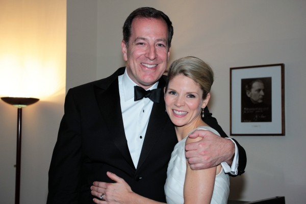 Ted Sperling, Kelli O'Hara at Kelli O'Hara, Victoria Clark & More in The Collegiate Chorale's THE MIKADO!