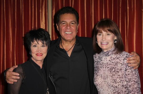 Chita Rivera, Clint Holmes, Gloria Vanderbilt