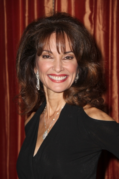 Susan Lucci at Clint Holmes Cabaret Opening Night