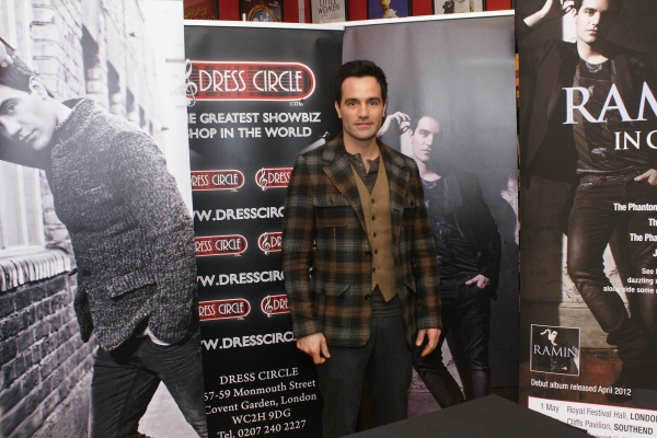 Ramin Karimloo at Ramin Karimloo Signs Albums at Dress Circle!