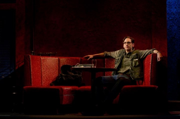 Photo Flash: First Look at THE COLUMNIST- Production Shots!