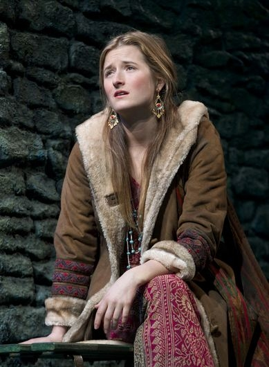 Grace Gummer at First Look at THE COLUMNIST- Production Shots!