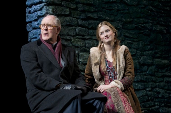 John Lithgow, Grace Gummer at First Look at THE COLUMNIST- Production Shots!