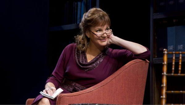Margaret Colin at First Look at THE COLUMNIST- Production Shots!