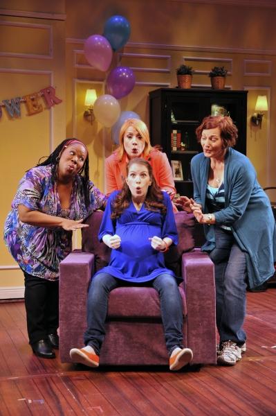 Melody Betts, Kimberly Vanbiesbrouck, Jennifer Chada and (sitting) Madeline Duffy-Feins