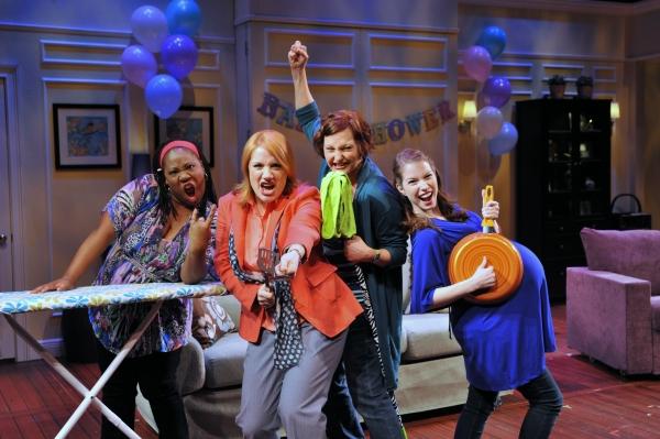 Melody Betts, Kimberly Vanbiesbrouck, Jennifer Chada and Madeline Duffy-Feins