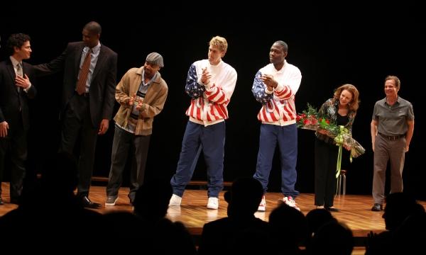 Photo Coverage: MAGIC/BIRD Opens on Broadway - Magic Johnson, Larry Bird & More!
