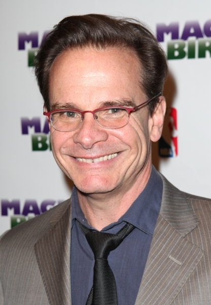 Peter Scolari  at MAGIC/BIRD Company Celebrates Broadway Opening at After Party!