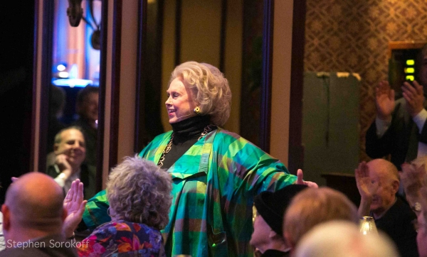 Barbara Cook at Barbara Cook Performs 'LET'S FALL IN LOVE' at Feinstein's at Loews Regency