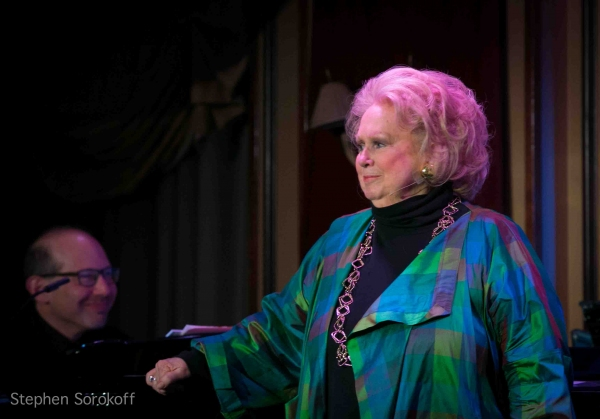 Ted Rosenthal & Barbara Cook at Barbara Cook Performs 'LET'S FALL IN LOVE' at Feinstein's at Loews Regency