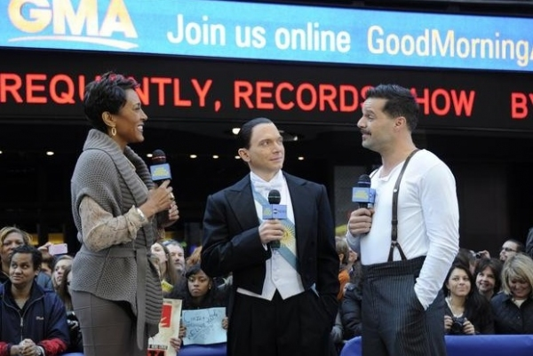 Photo Flash: The Cast of EVITA Performs on GMA