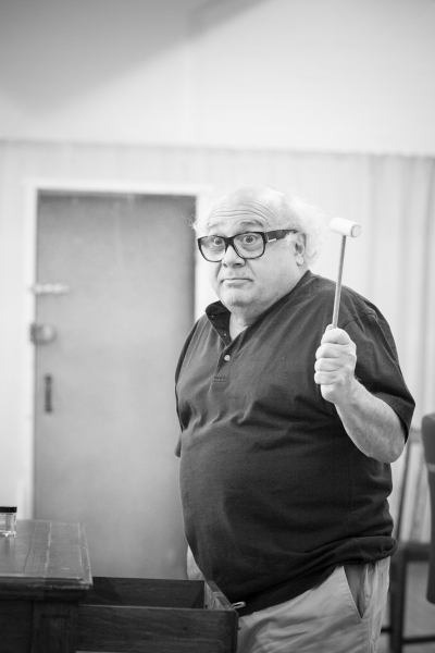 Photo Flash: Danny DeVito and Richard Griffiths in Rehearsal for SUNSHINE BOYS