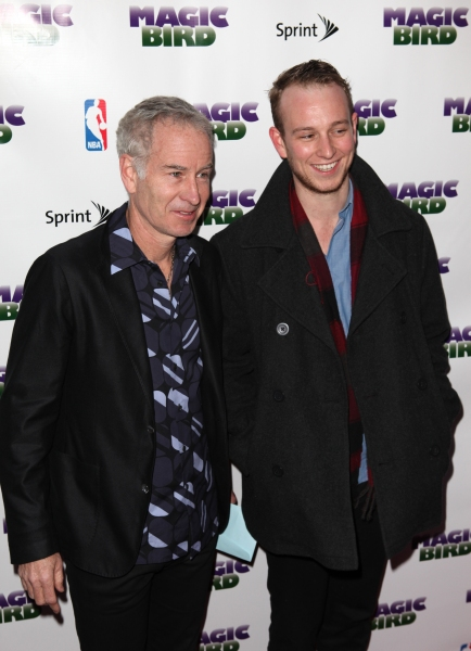 John McEnroe & Son