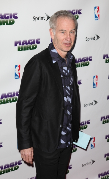 John McEnroe at MAGIC/BIRD Starry Theatre Arrivals
