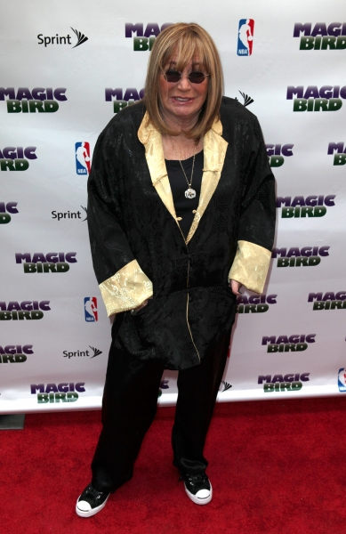 Penny Marshall at MAGIC/BIRD Starry Theatre Arrivals