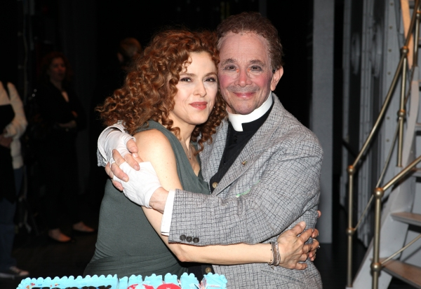 Photo Coverage: Joel Grey Celebrates His 80th Birthday with Bernadette Peters & ANYTHING GOES Company