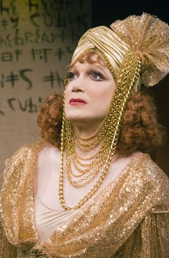 Photo Flash: Charles Busch in JUDITH OF BETHULIA- Production Shots!