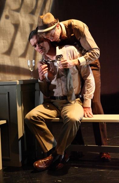 Daniel J. O'Brien and Adam Pethebridge in RAISED IN CAPTIVITY