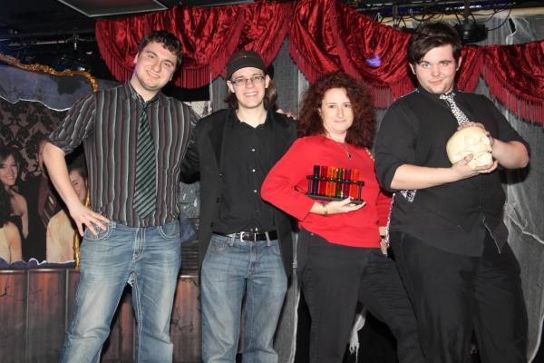 Chris Teft, Cooper Jordan, Julie Saltman and Dalton Dale