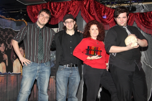 Chris Teft, Cooper Jordan, Julie Saltman and Dalton Dale Photo
