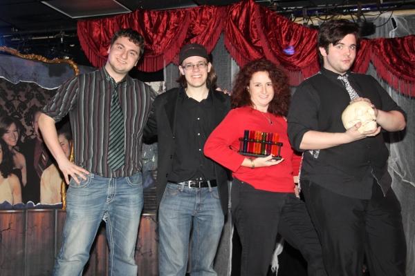 Chris Tefft, Cooper Jordan, Julie Saltman and Dalton Dale Photo