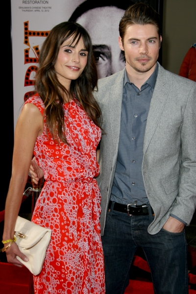 Jordana Brewster and Josh Henderson