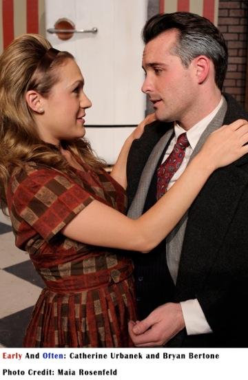 Catherine Urbanek and Bryan Bertone Photo