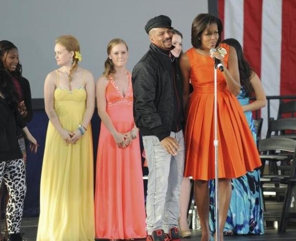 Rosero McCoy & Michelle Obama