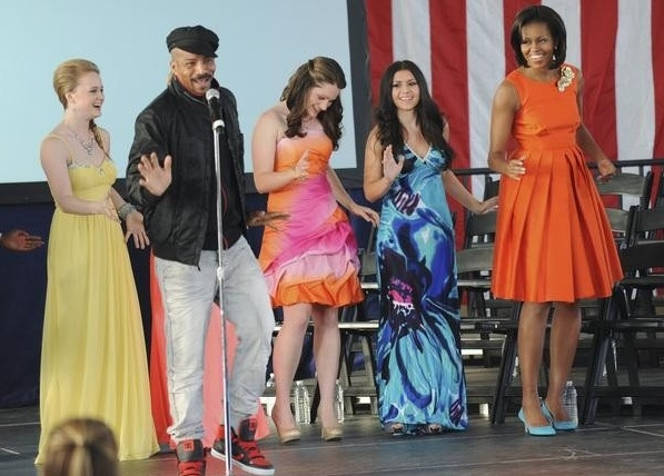 Rosero McCoy & Michelle Obama