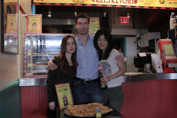 Photo Flash: SEMINAR Cast Unveils New Pizza at Two Boots!