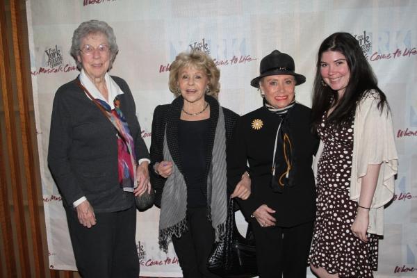 Fran Roberts, Elisa Stein, Rosalie Reinhardt and Cristin Whitley