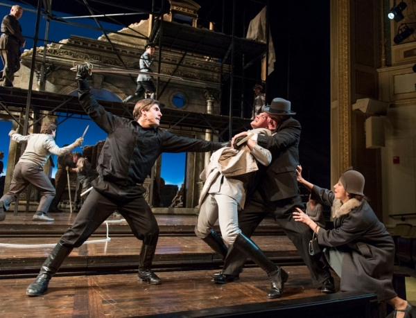 Dan Lawrence, Casey Cott, Aled Davies, Laura Perrotta at First Look at ROMEO AND JULIET at Cleveland's Great Lakes Theater thru 4/28