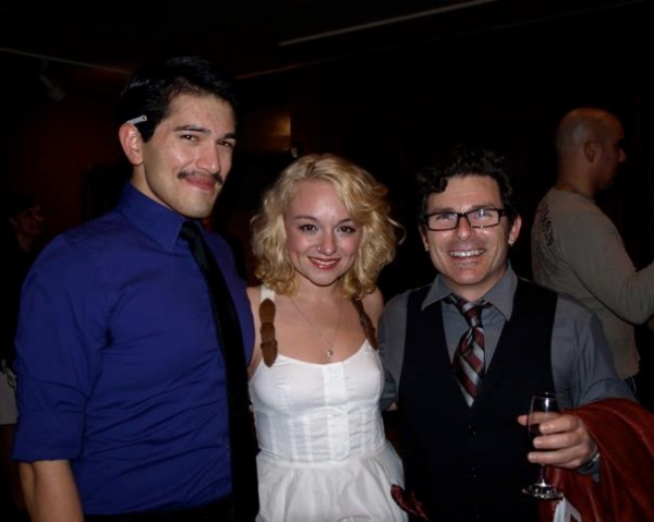 Estevan Valdes, Ashley Matthews and Nick DeGruccio
