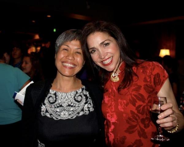 Lily Lim and Stasha Surdyke