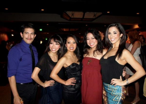 Estevan Valdes, Nancy Lam, Jacqueline Nguyen and Klarissa Mesee Photo