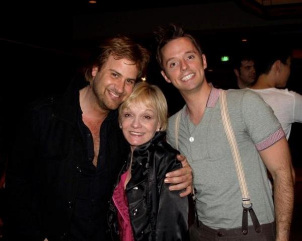 James C Mulligan, Cathy Rigby and Daniel Dawson Photo