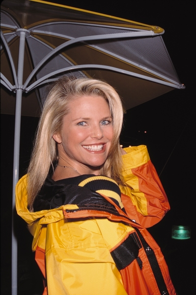 Christie Brinkley at Walt Disney's opening of 'Asia' in Orlando, Florida. March 18, 1999 at Photo Blast From The Past: Christie Brinkley
