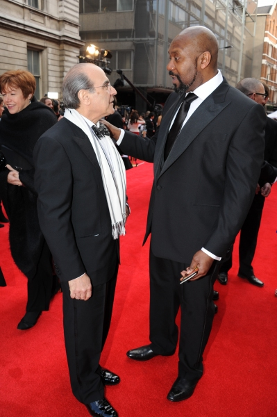 David Suchet and Lenny Henry