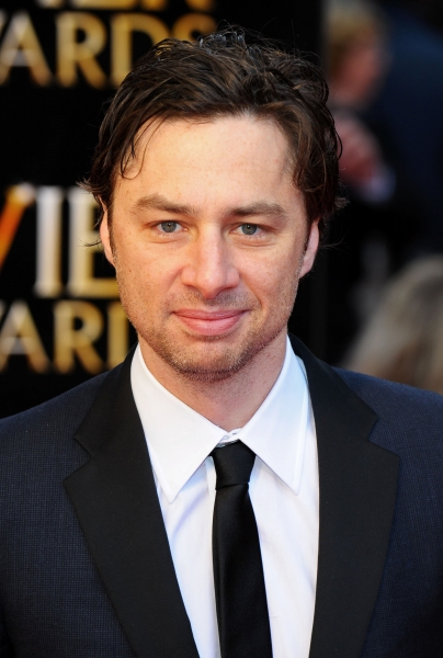 Zach Braff at 2012 Olivier Awards Red Carpet Arrivals!