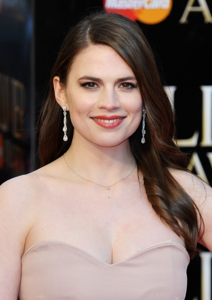 Hayley Atwell at 2012 Olivier Awards Red Carpet Arrivals!