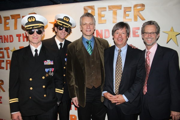 Roger Rees, Alex Timbers, Rick Elice, Dave Barry and Ridley Pearson